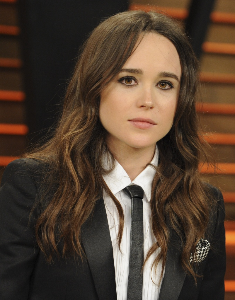 Ellen Page At The 2014 Vanity Fair Party